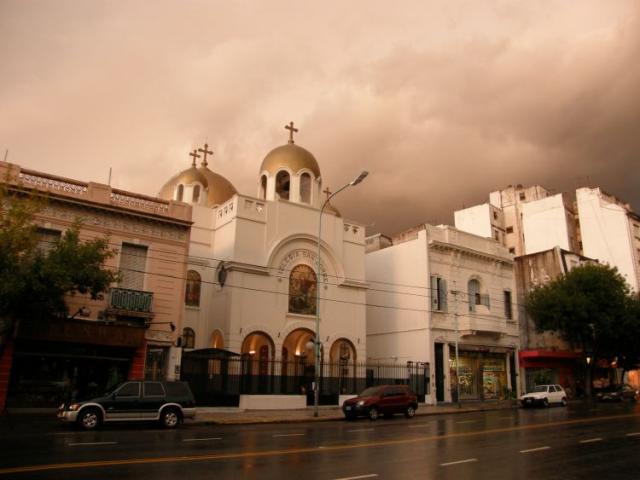 Bouřka v Palermo, Buenos Aires - Buenos Aires 2009