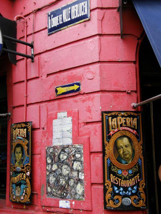 Buenos Aires, El Caminito 3 - Buenos Aires 2009