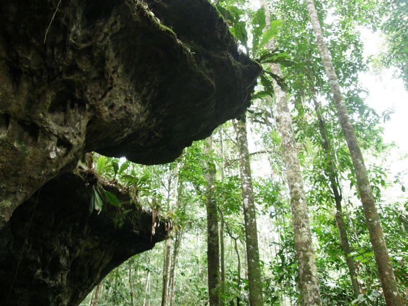 Jeskyně u vodopádů 2 - Brazílie- Amazonie a Manaus