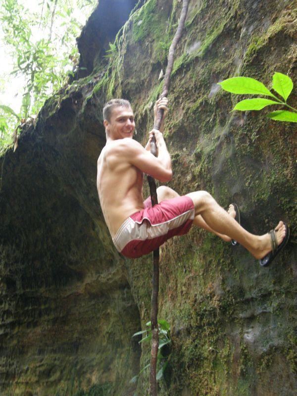 No a teď na liáně šplhám já - Brazílie- Amazonie a Manaus