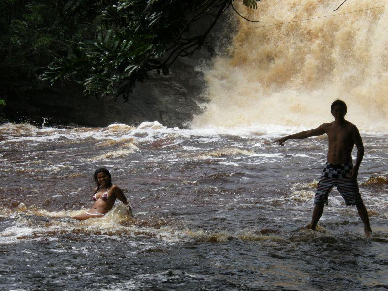 Paris a Vanessa - Brazílie- Amazonie a Manaus