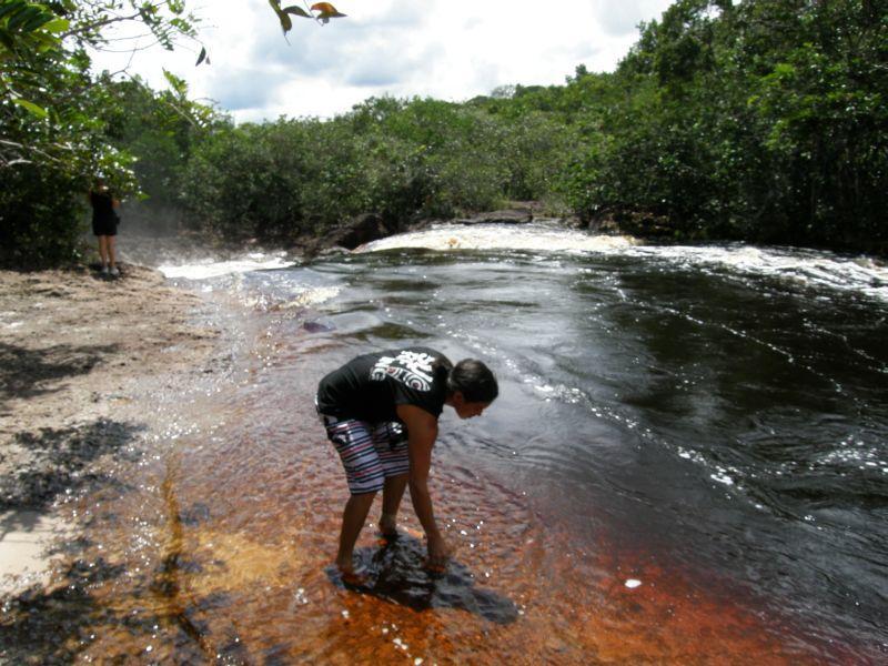 Paris testuje teplotu - Brazílie- Amazonie a Manaus