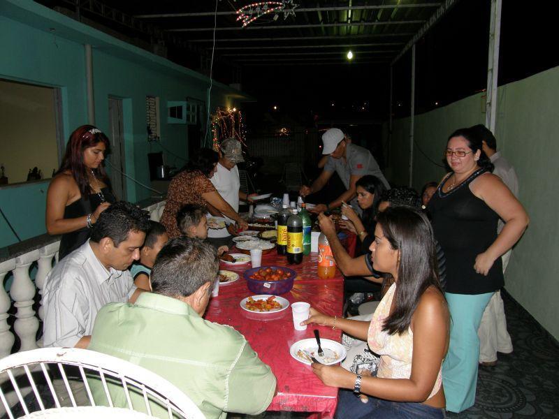 Šťedrý večer s rodinou Vanessy - Brazílie- Amazonie a Manaus