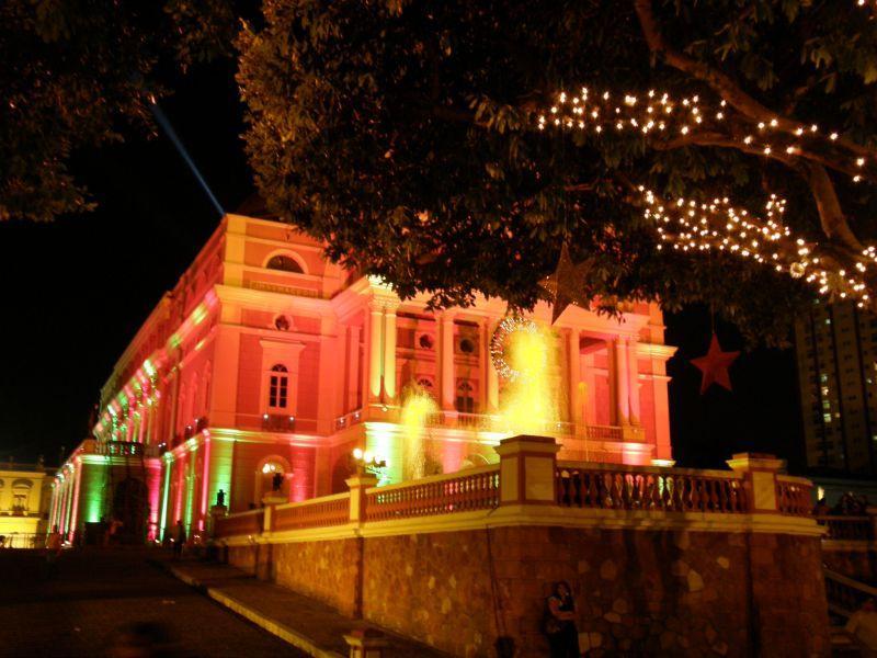 vánoční Manaus 4 - Brazílie- Amazonie a Manaus