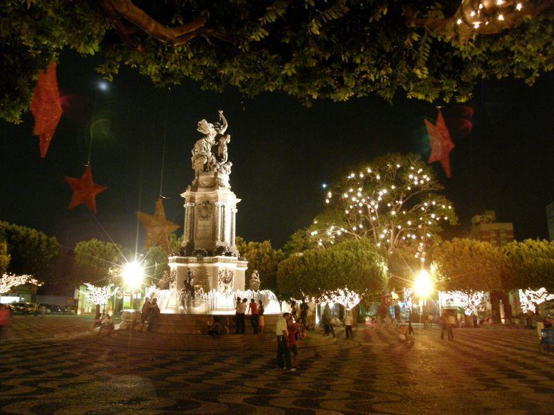 vánoční Manaus 5 - Brazílie- Amazonie a Manaus