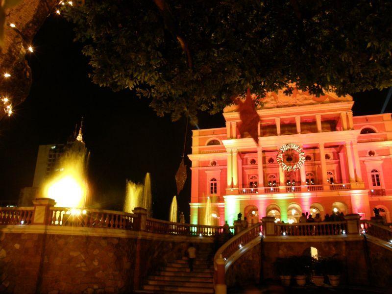 vánoční Manaus, Opera - Brazílie- Amazonie a Manaus
