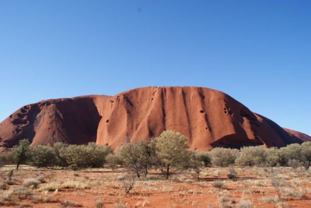 Ayres Rock / Uluru v pozdním odpoledni 3 - Centrální Austrálie