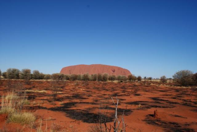 Central Australia- Ayers Rock photo no. 10