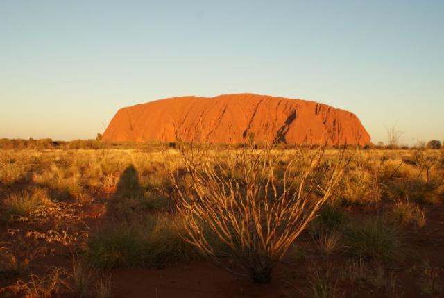 Central Australia- Ayers Rock photo no. 19