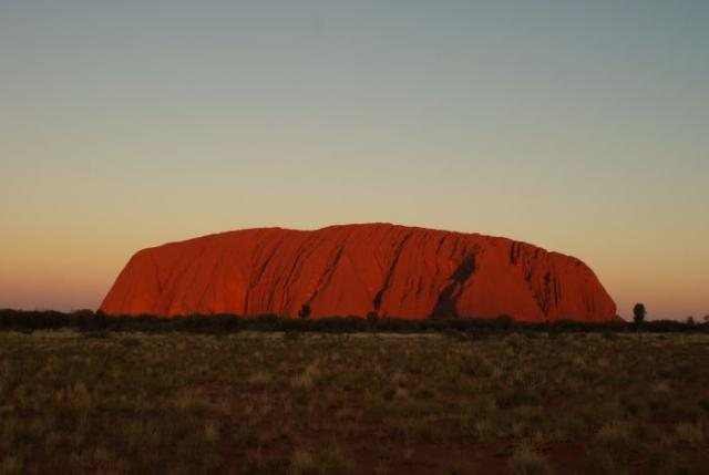 Central Australia- Ayers Rock photo no. 23