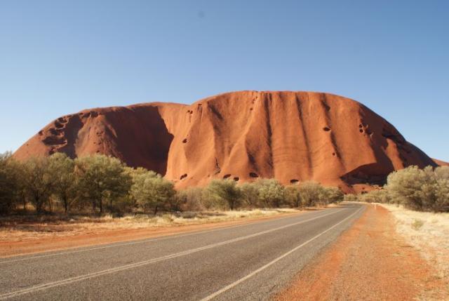 Central Australia- Ayers Rock photo no. 7