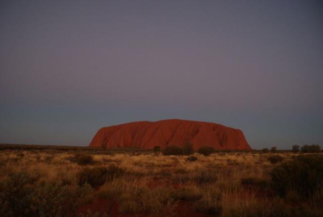 Den se loučí s Uluru 4 - Centrální Austrálie