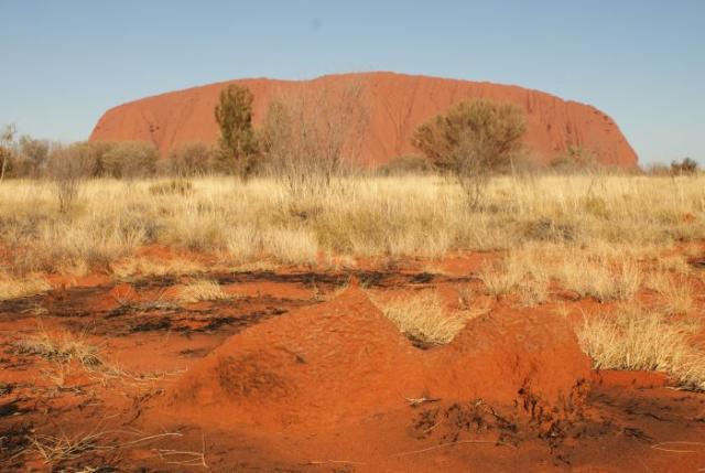 Malé a velké Uluru - Centrální Austrálie