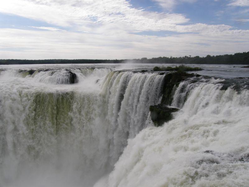 Garganta del diablo - Vodopády Iguazu (Argentina)
