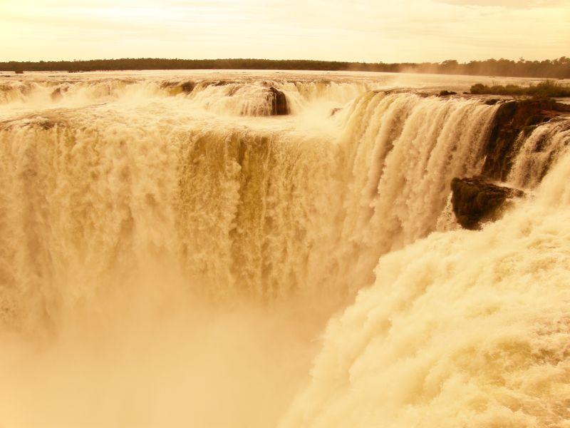 Garganta del diablo III - Vodopády Iguazu (Argentina)