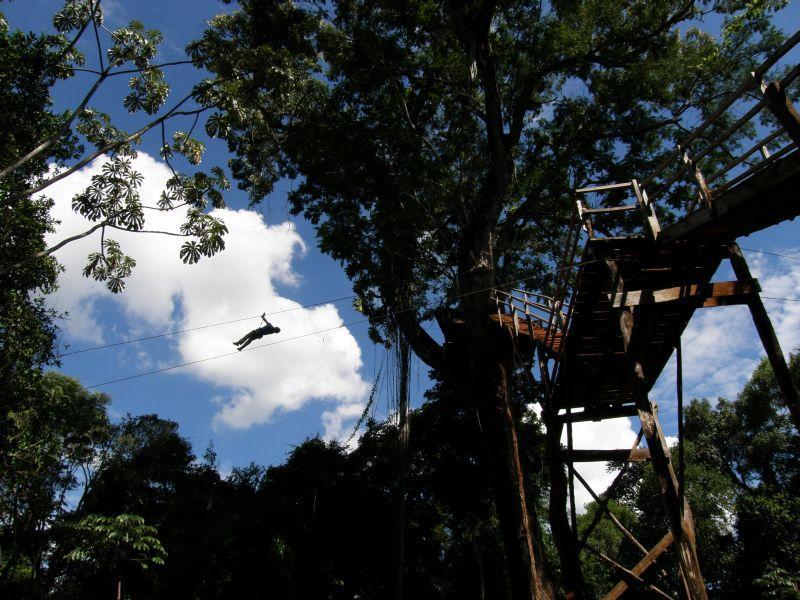 Jungle diving - Vodopády Iguazu (Argentina)
