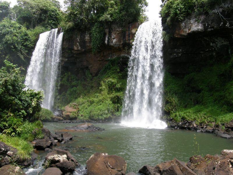 Krása menších vodopádů 2 - Vodopády Iguazu (Argentina)