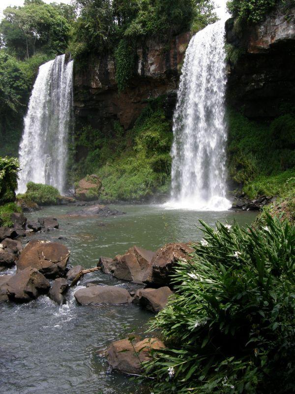 Krása menších vodopádů 3 - Vodopády Iguazu (Argentina)