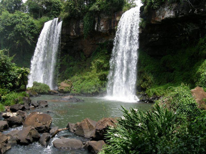 Krása menších vodopádů 4 - Vodopády Iguazu (Argentina)