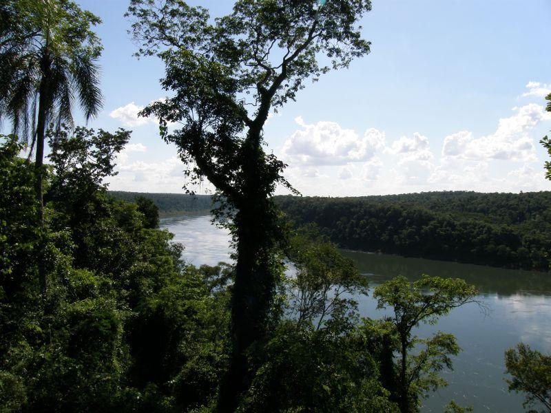 Paraná - Vodopády Iguazu (Argentina)