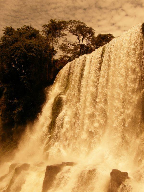 Pod padajícími vodami Paraná 3 - Vodopády Iguazu (Argentina)