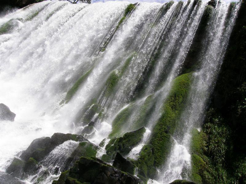 Pod padajícími vodami Paraná 5 - Vodopády Iguazu (Argentina)