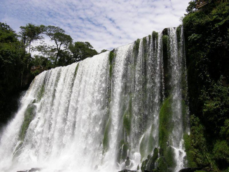 Pod padajícími vodami Paraná - Vodopády Iguazu (Argentina)