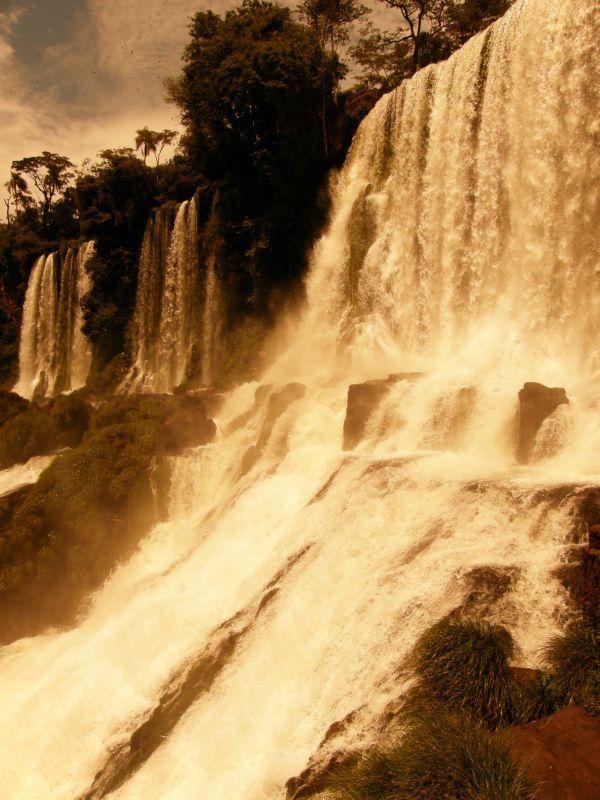 Síla Iguazu 7 - Vodopády Iguazu (Argentina)