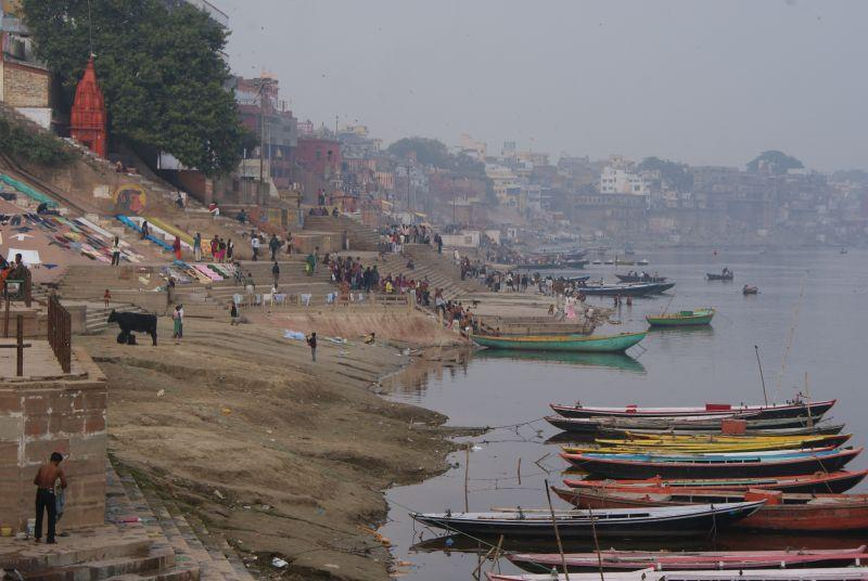 Gháty svatého města Varanasi - Indie - Posvatne mesto Varanasi
