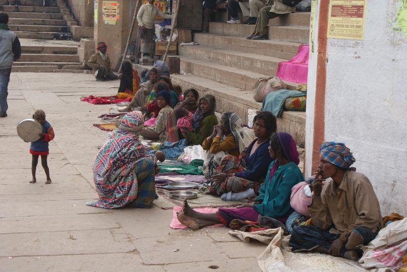 Ti nejchudší... - Indie - Posvatne mesto Varanasi