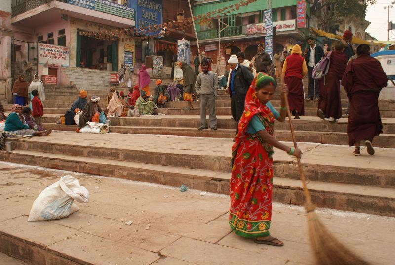 India - Holy city of Varanasi photo no. 6