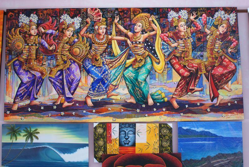Božský D,K. Sujana - Indonésie- Bali