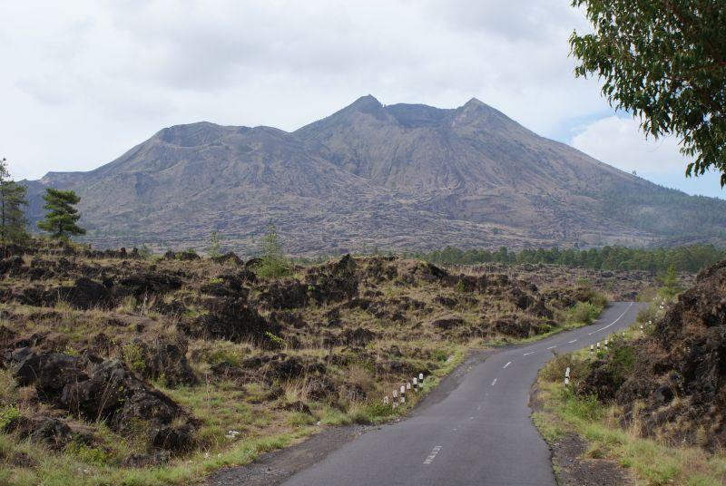 Cesta sopečnou krajinou - Indonésie- Bali