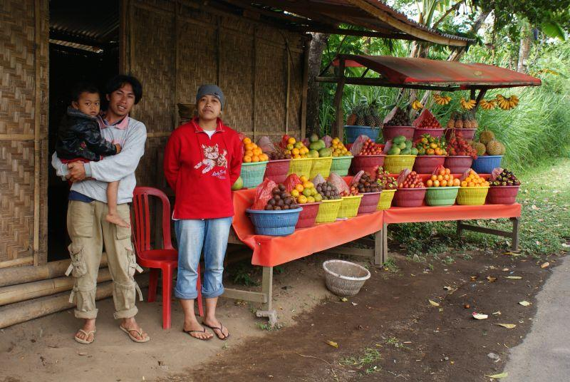 Ovoce-zelenina - Indonésie- Bali