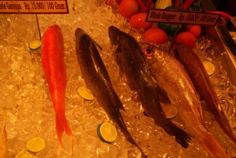 Plody moře II - Indonésie- Bali