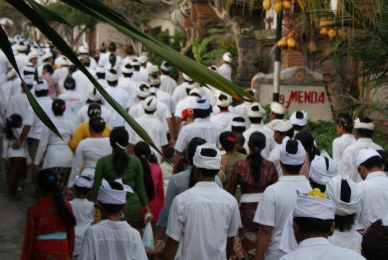 Procesí II - Indonésie- Bali