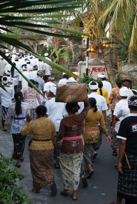 Procesí III - Indonésie- Bali