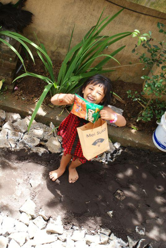 Radost z mála - Indonésie- Bali