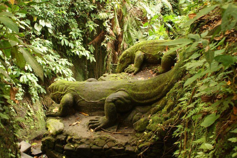 Varani z kamene, jako živí 2 - Indonésie- Bali