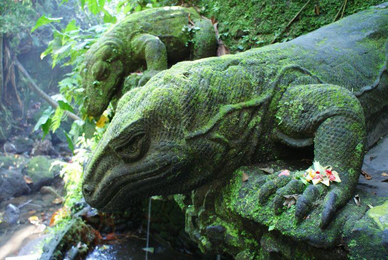Varani z kamene, jako živí 6 - Indonésie- Bali