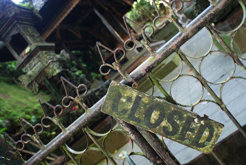 zavřeno - Indonésie- Bali