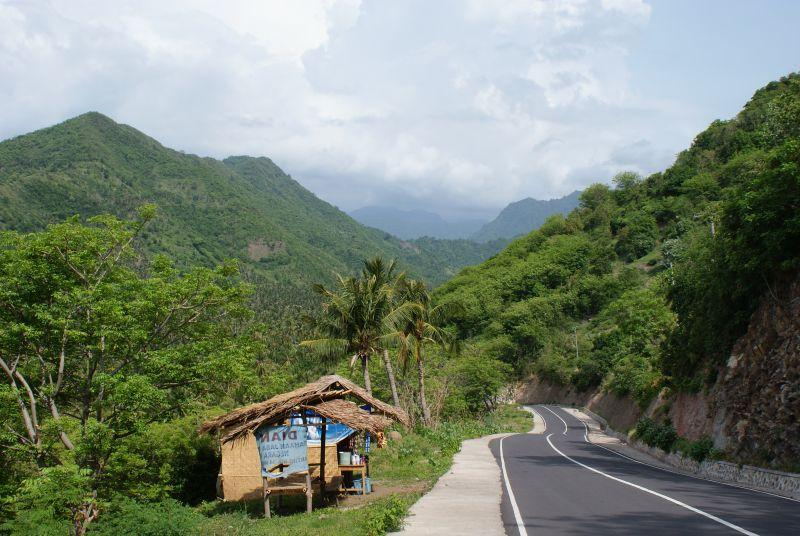 cestou dolů - Indonésie- Lombok