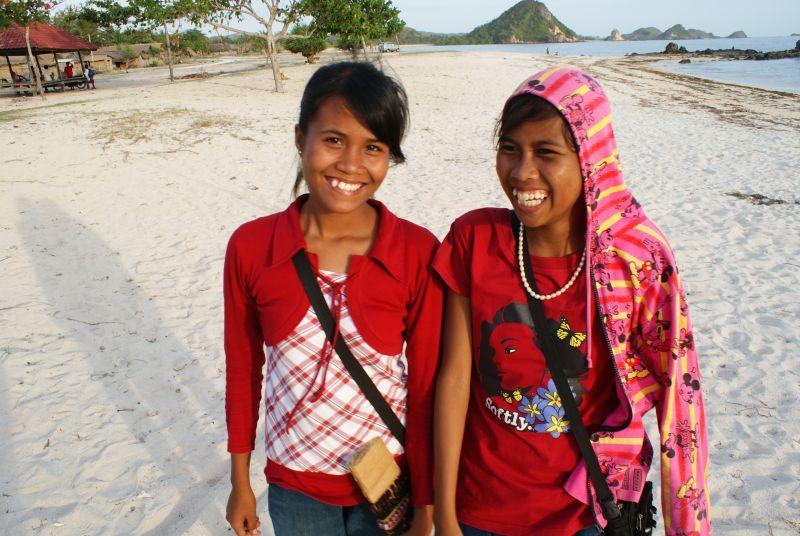 Opičí sestřičky :) - Indonésie- Lombok