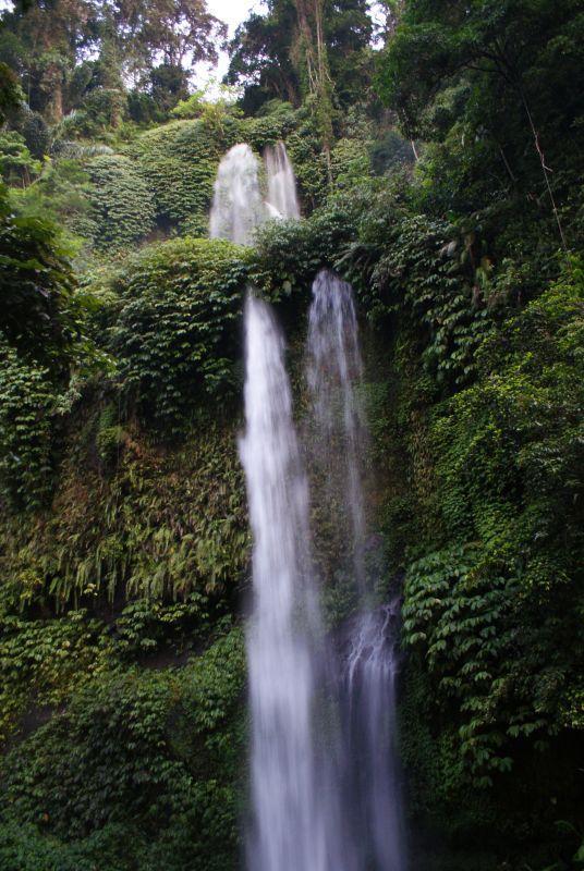 První vodopád poblíž Senaru 10 - Indonésie- Lombok