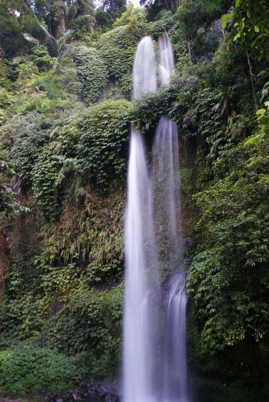 První vodopád poblíž Senaru 5 - Indonésie- Lombok