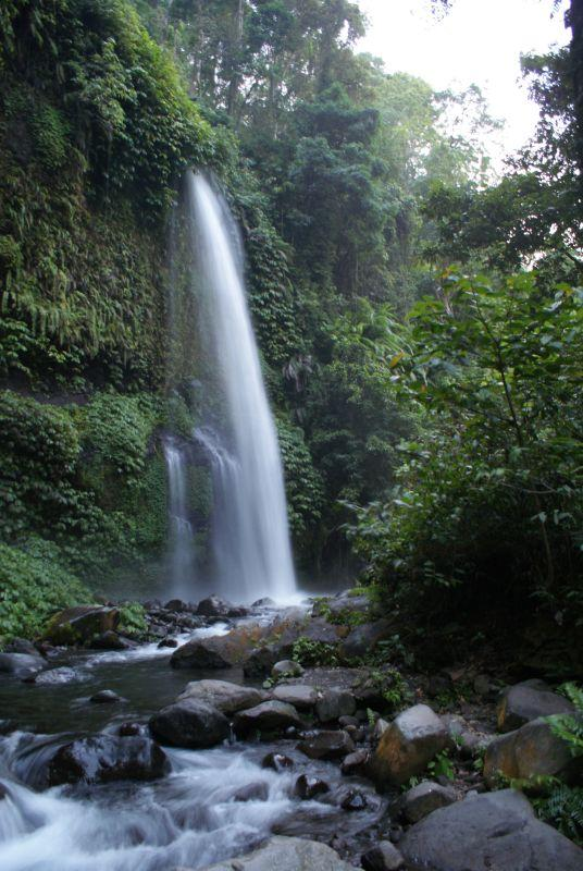 První vodopád poblíž Senaru 6 - Indonésie- Lombok