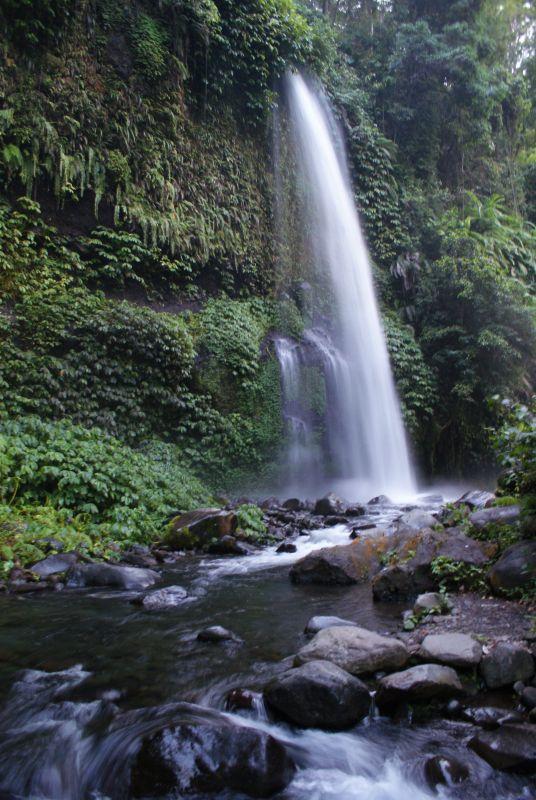 První vodopád poblíž Senaru 8 - Indonésie- Lombok