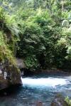 Říčka pod vodopády - Indonésie- Lombok