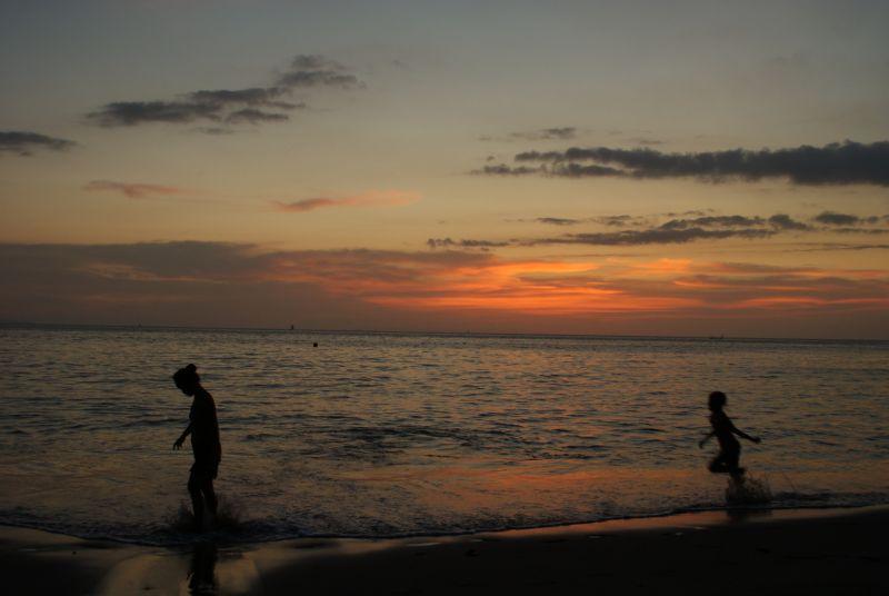 Sengigi sunset 3 - Indonésie- Lombok