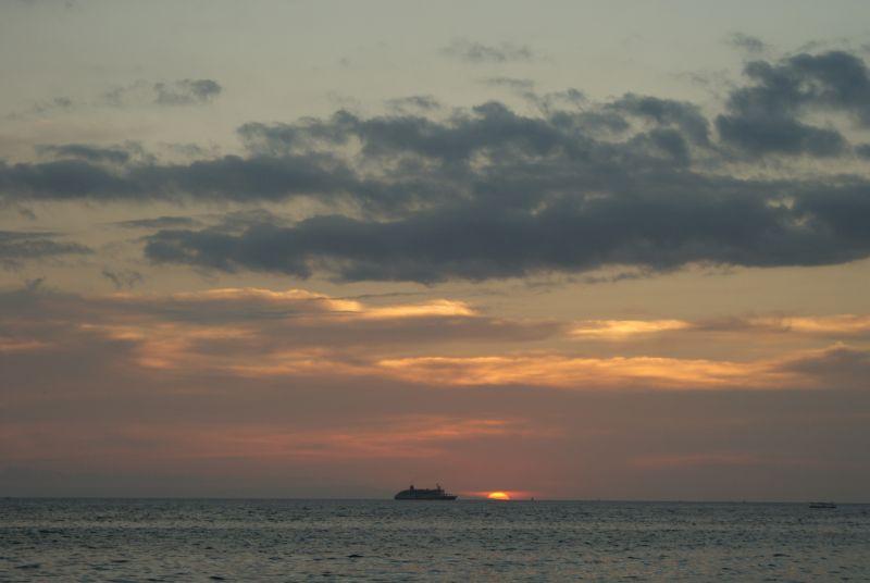 Sengigi sunset - Indonésie- Lombok